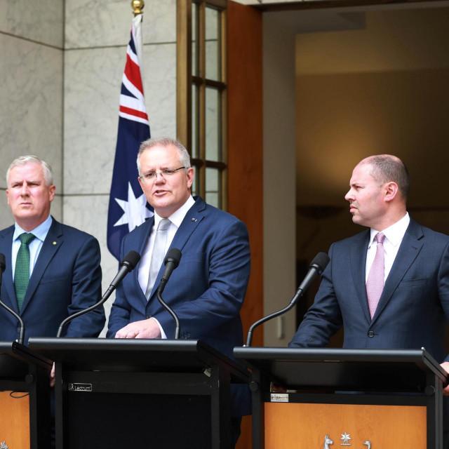 Scott Morrison (u sredini)