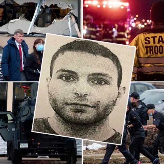 Prizori pucnjave u Coloradu i osumnjičeni napadač Ahmad Al Aliwi Alissa