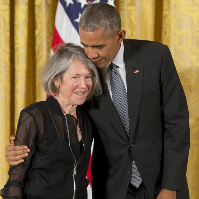 Louise Gluck i Barack Obama