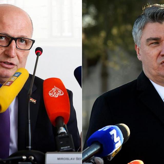 Miroslav Šeparović, Zoran Milanović