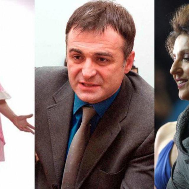 Goran Bogdan, Branislav Lečić i Mirjana Karanović