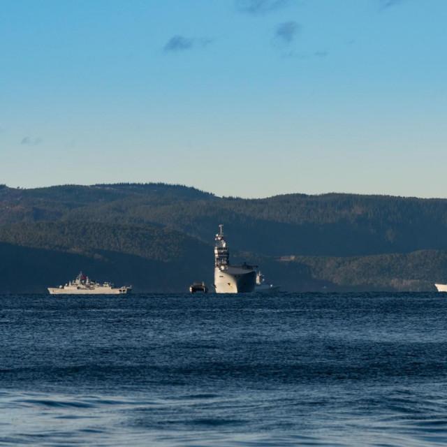 Prizor s jedne od NATO-ovih vojnih vježbi u Norveškoj