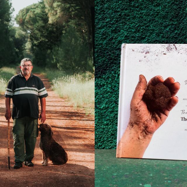 Ivan Matak sa svoijm psom tragačem i kuharica posvećena tartufima