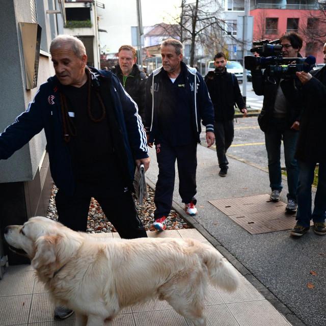 Dragutin Ferenčak, Milan Bandić i pas Rudi<br />