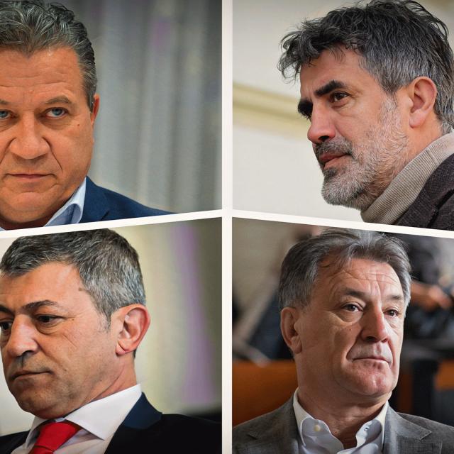 Pravomoćno osuđeni na zatvorske kazne, Damir Vrbanović 3 godine, Zoran Mamić 4 godine i 8 mjeseci, Milan Pernar 3 godine i 2 mjeseca i Zdravko Mamić 6,5 godina