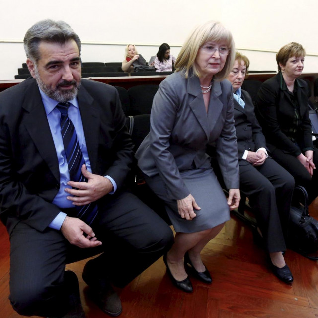 Nadan Vidošević, Zdenka Peternel i Josipa Mladinov<br />