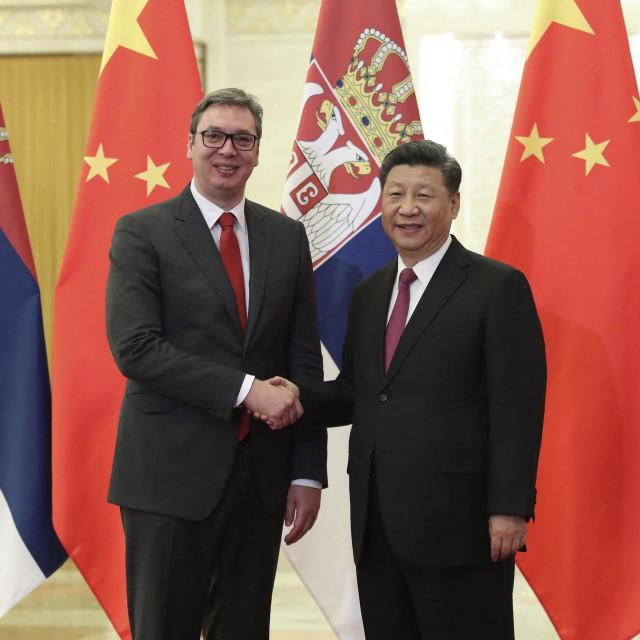 Aleksandar Vučić i Xi Jinping