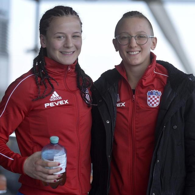Marija Malenica i Nikolina Ćaćić