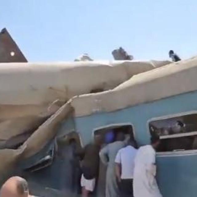 Sudar vlakova u Egiptu