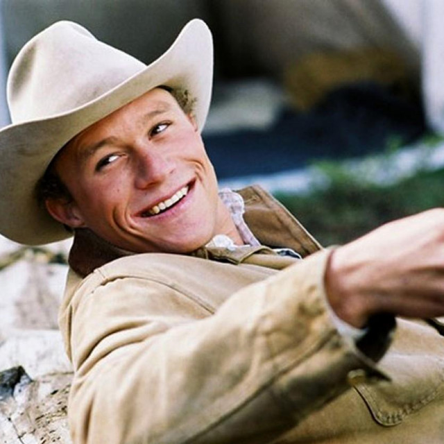 Heath Ledger u filmu 'Brokeback Mountain'