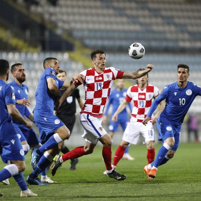 Ioannis Kousoulos, Ante Budimir, Luka Modrić i Pieros Sotiriou