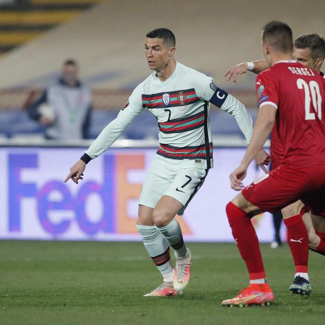 Cristiano Ronaldo u Beogradu
