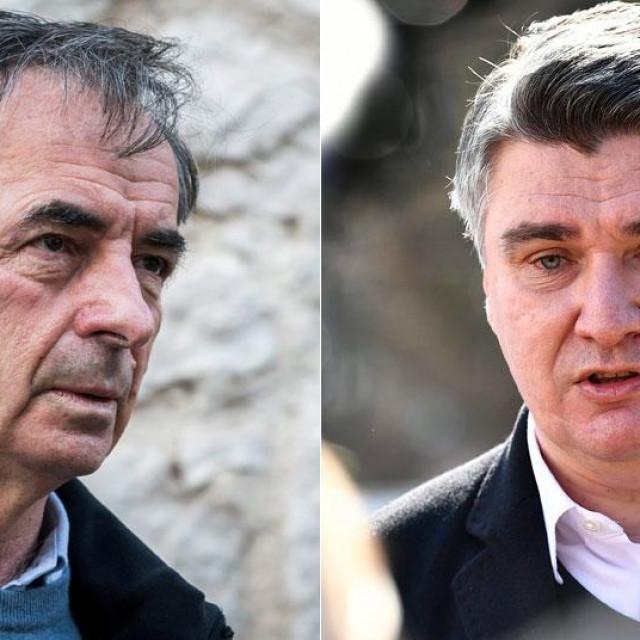 Milorad Pupovac i Zoran Milanović