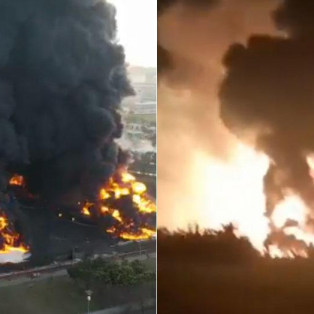 Požar u rafineriji Pertamina
