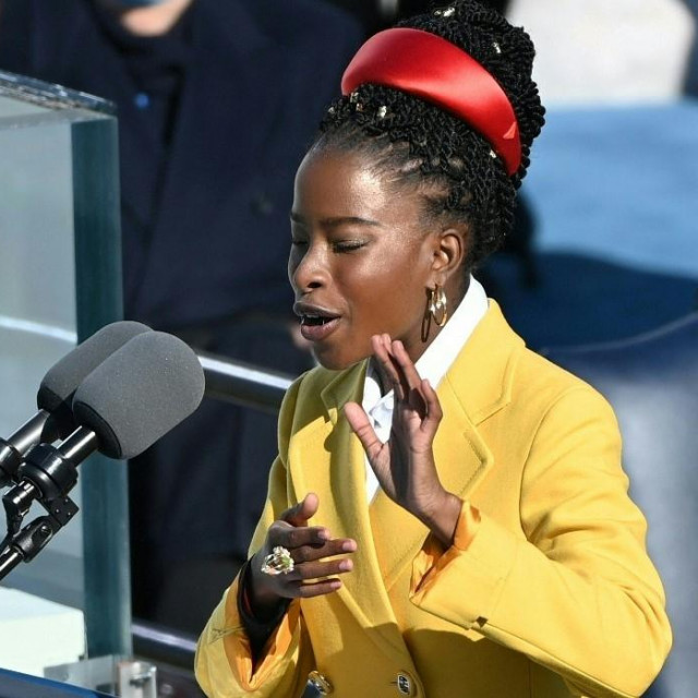 Amanda Gorman recitira tijekom inauguracije Joe Bidena