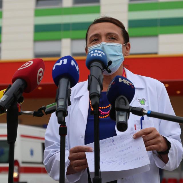 Irena Hrstić, ravnateljica Opće bolnice Pula