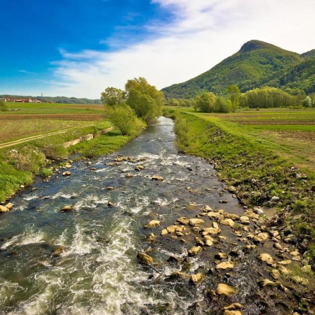 Rijeka Bednja, ilustracija