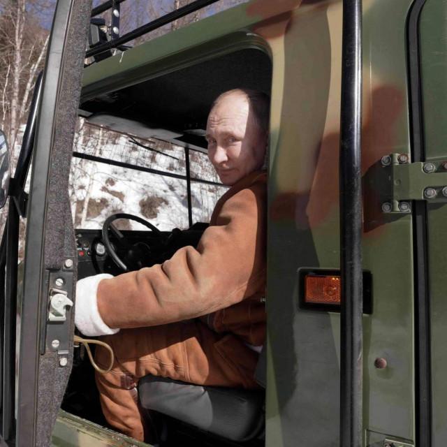 Vladimir Putin u Sibiru