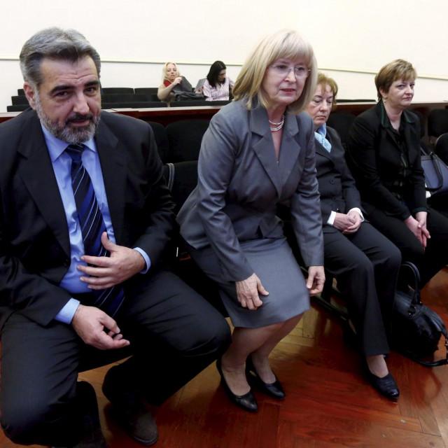 Nadan Vidošević, Zdenka Peternel, Josipa Mladinov
