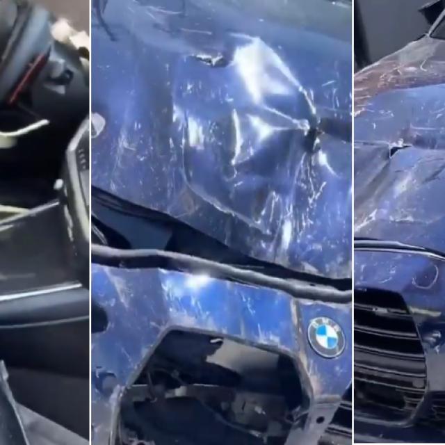 Razbijeni BMW M3