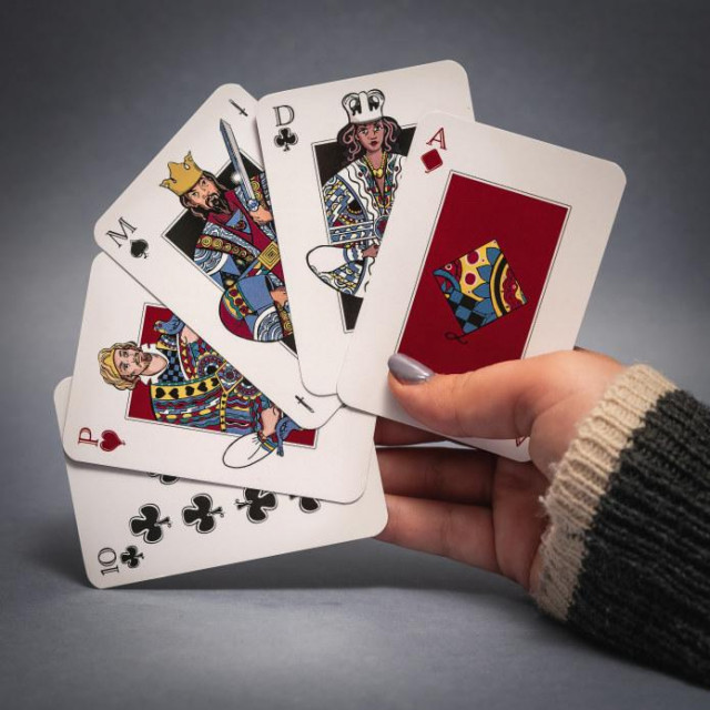 Queeng igraće karte