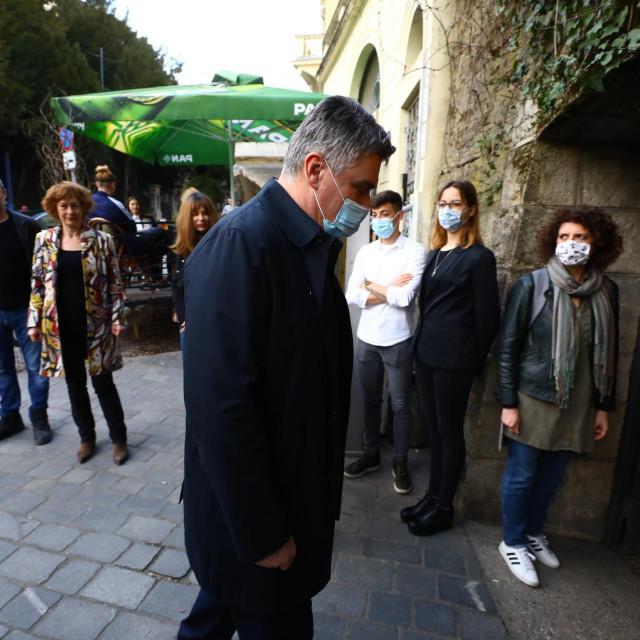 Zoran Milanović stiže na predstavu
