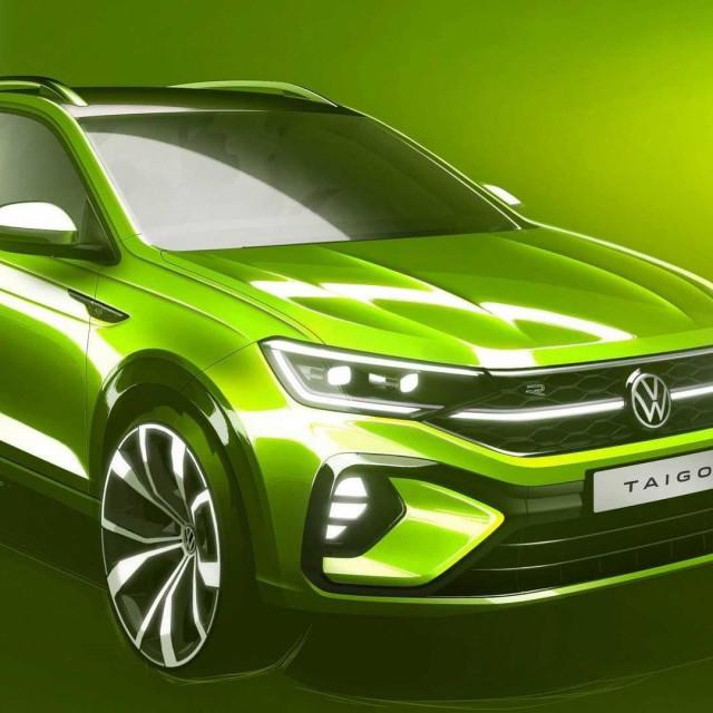 VW Taigo skica