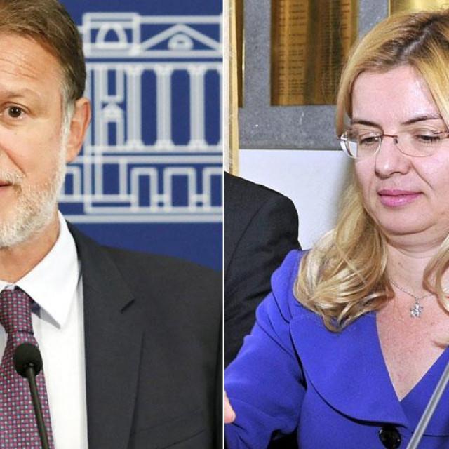 Gordan Jandroković i Zlata Đurđević