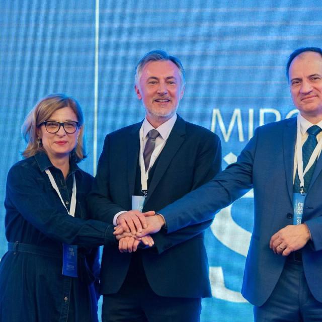 Ana Lederer, Miroslav Škoro i Slaven Dobrović