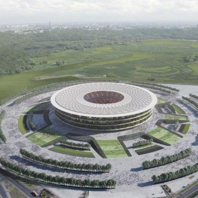 Nacionalni stadion u Srbiji