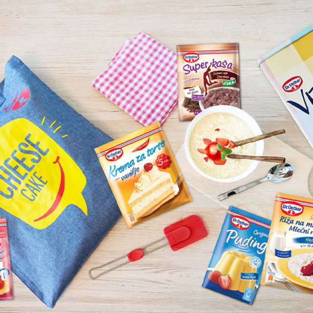 Dr. Oetker web shop
