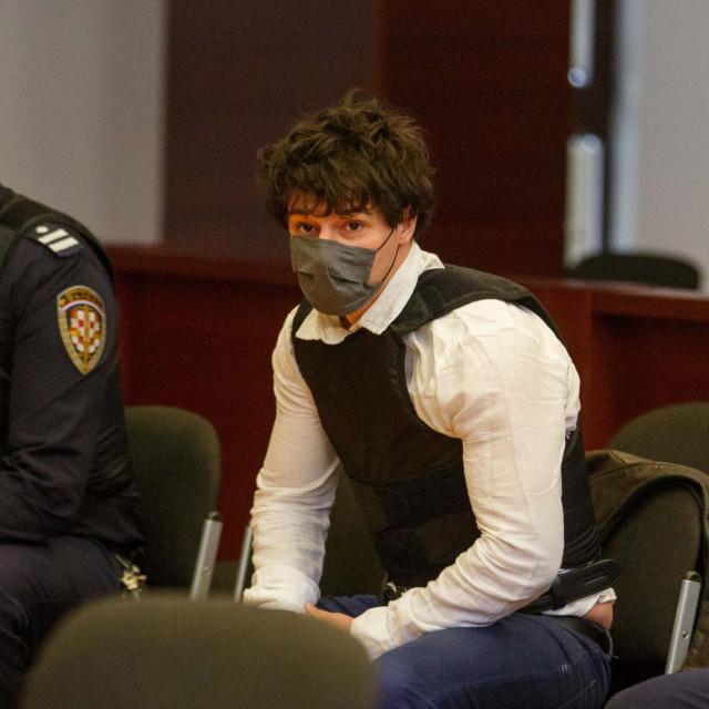 Filip Zavadlav, brat Ivana Antona Zavadlava, tijekom suđenja