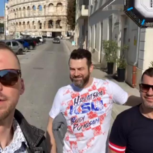 Zelg Galešić, Martin Lewandowski i Ivan Dijaković