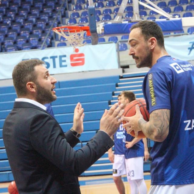Vlada Jovanović i Damir Markota