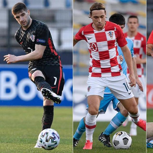 Luka Ivanušec; Lovro Majer; Joško Gvardiol; Domagoj Bradarić