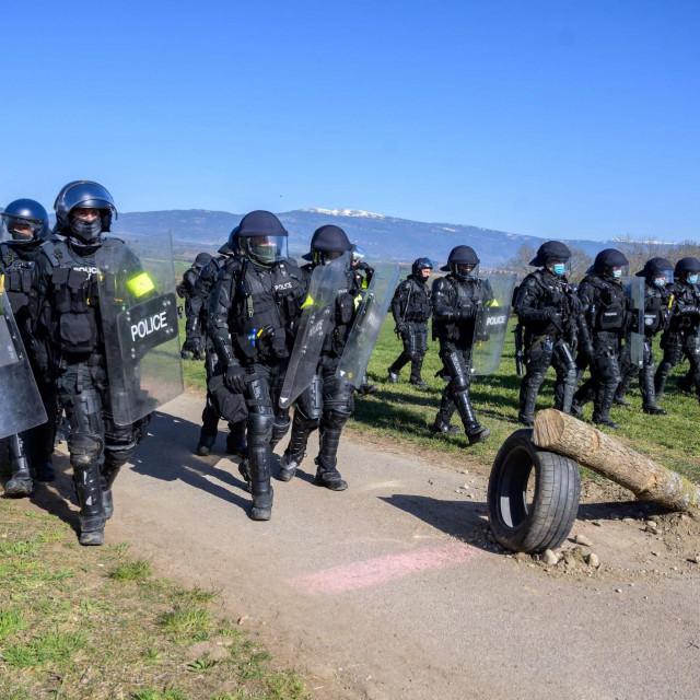 Švicarska policija, arhivska fotografija