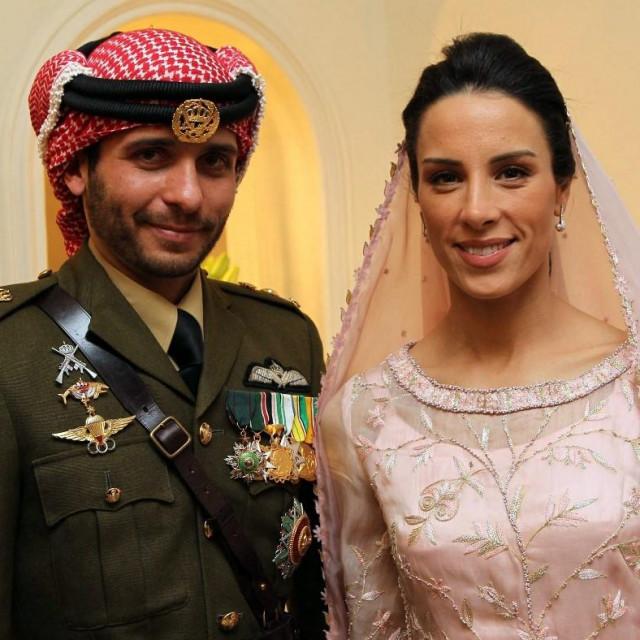 Princ Hamza sa suprugom