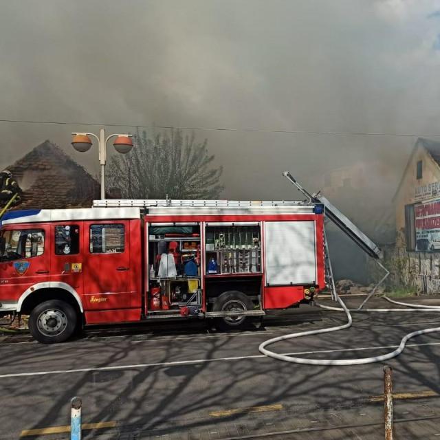 Požar na Savskoj cesti