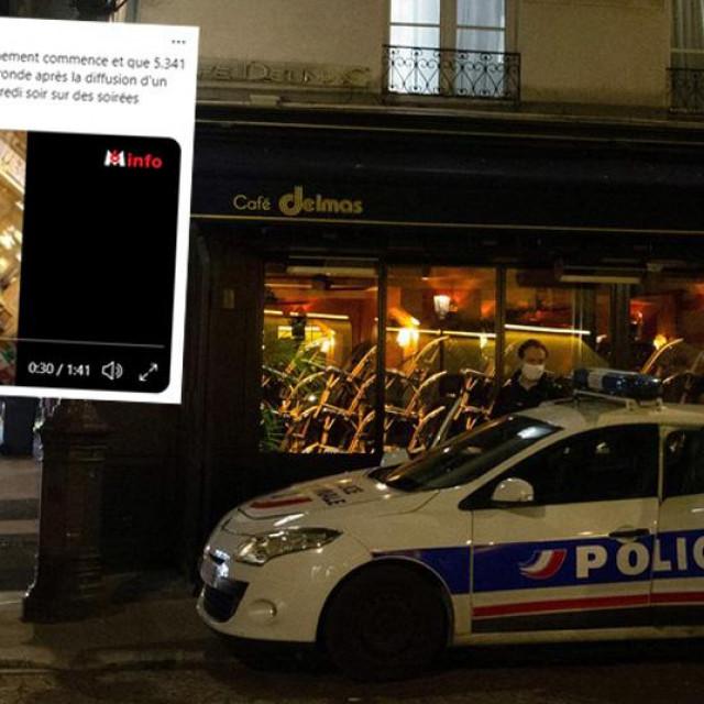 Policija u Parizu