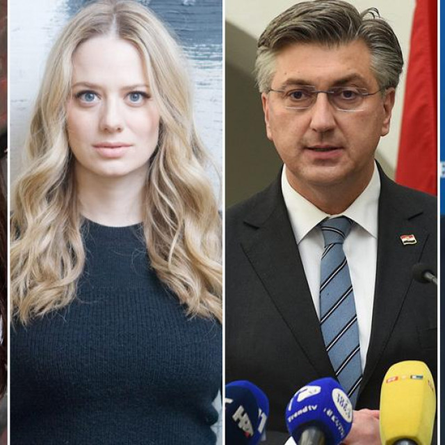 Marta Divjak, Jelena Veljača, Andrej Plenković i Josip Aladrović