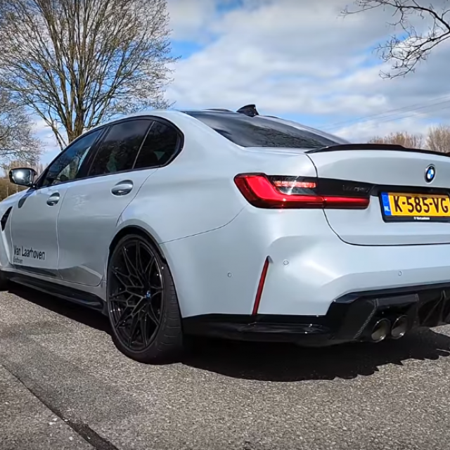 BMW M3 Competition ubrzanje