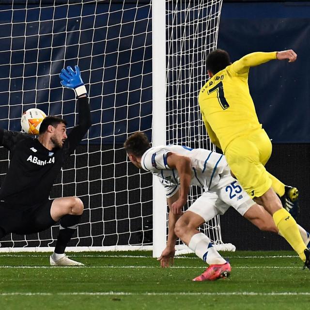 Moreno zabija Dynamo Kijevu u osmini finala Europske lige