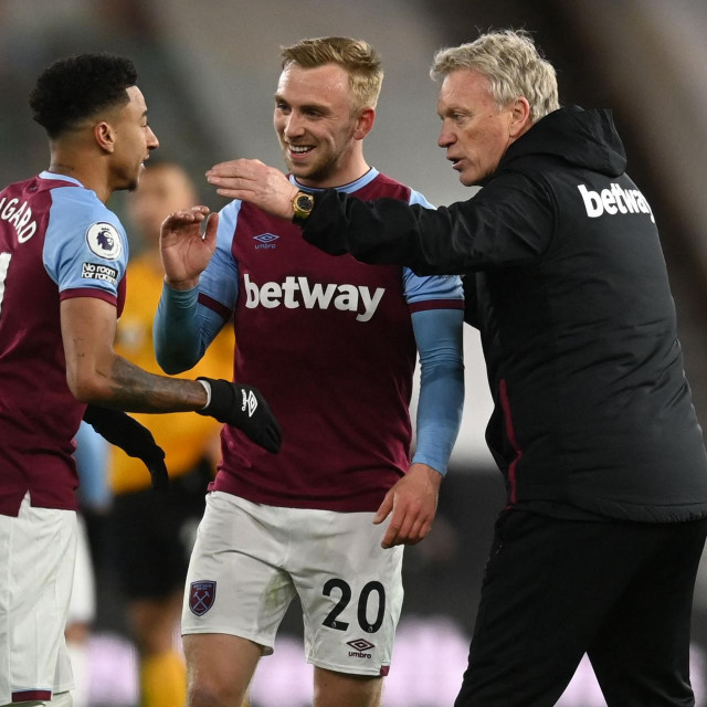 West Ham vodi David Moyes (desno)