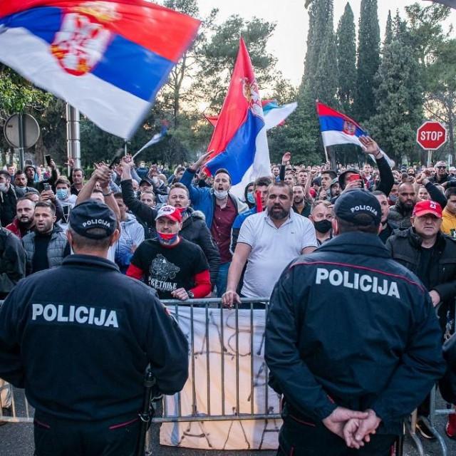 Prosvjedi protiv Zdravka Krivokapića