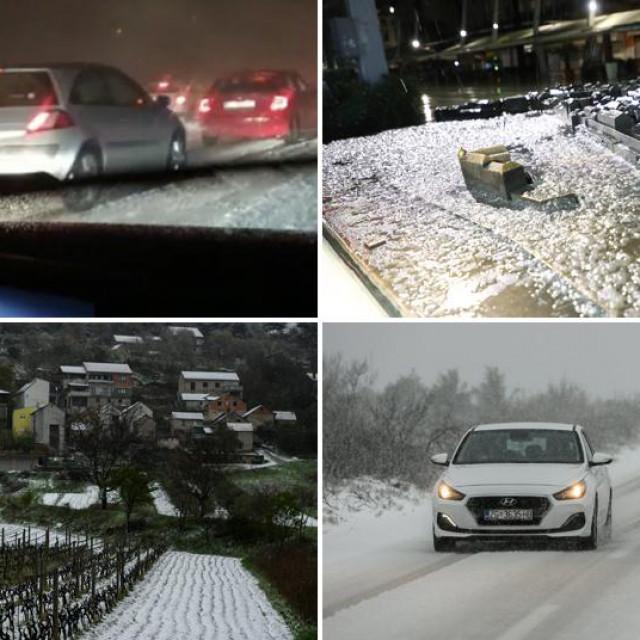 Snijeg u Dalmaciji