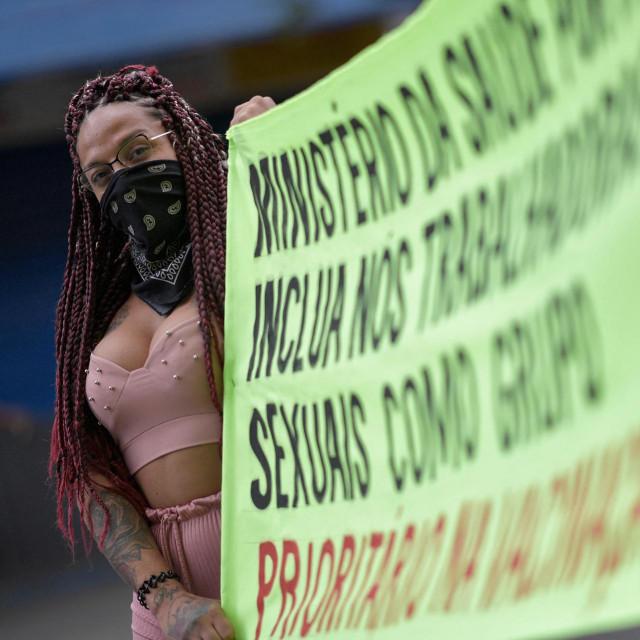 Prostitutke u Brazilu zahtijevaju cjepivo