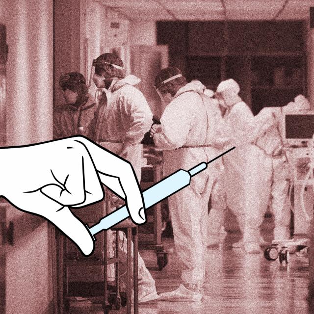 Cijepljenje, ilustracija