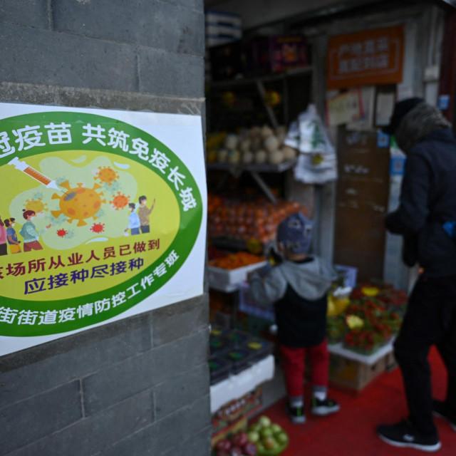 Kinezi u Pekingu počeli s obilježavanjem zgrada prema broju cijepljenih