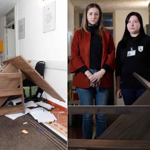 Zaštitarka Matea Hušnjak i<strong> </strong>ravnateljica Centra za socijalnu skrb u Ivanić Gradu Martina Cuvaj