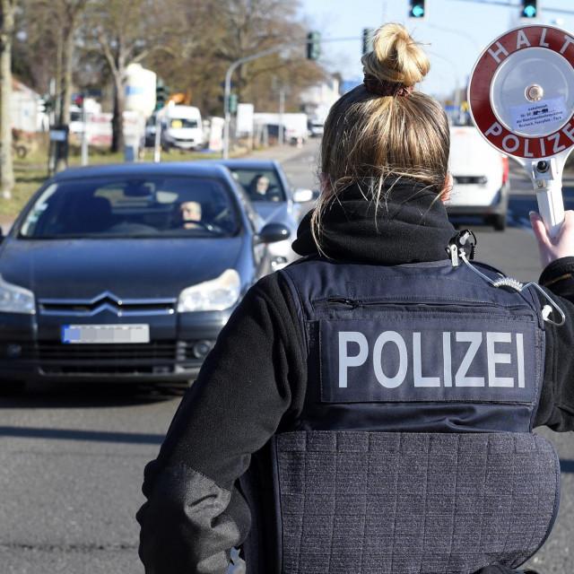 Njemačka policija; ilustracija
